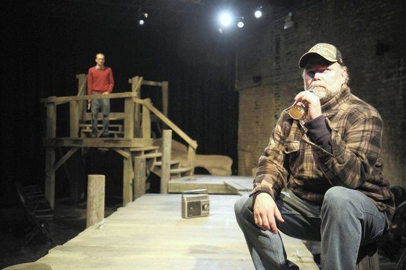 The Fisherman, Stage Left Theatre (Photo 2 by Johnny Knight)